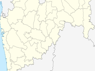 Map Of Maharashtra Showing Location Of Parbhani