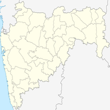Map Of Maharashtra Showing Location Of Ulhasnagar