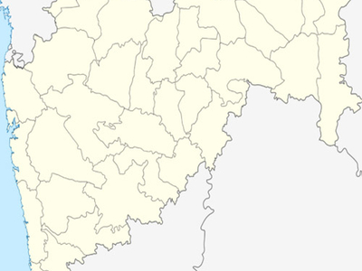 Map Of Maharashtra Showing Location Of Virar