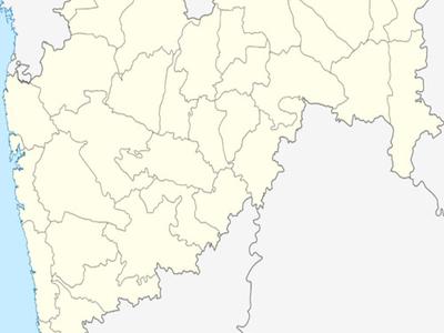 Map Of Maharashtrashowing Location Of Tumsar