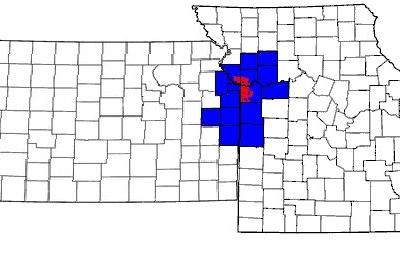 Map Of The Kansas City Metropolitan Area