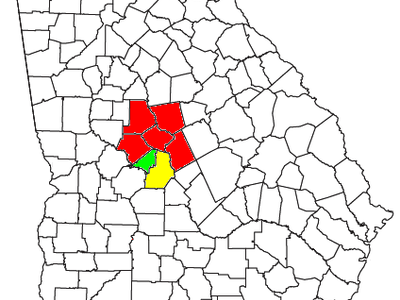 Map Of The Macon Warner Robins Fort Valley Csa