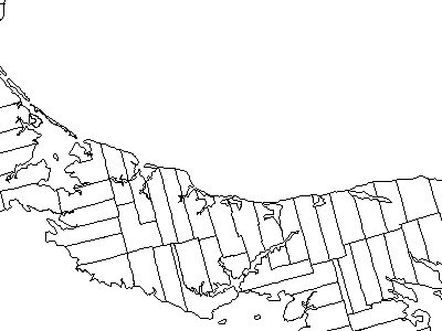 Map Of Prince Edward Island Highlighting Lot 8