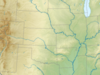 Map Showing The Location Of Devils Tower National Monument