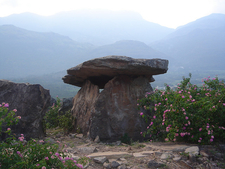 Marayoor Dolmens At Kerala - India