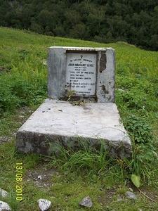 Margaret Legge's Memorial Grave