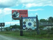 Marinette Wisconsin Sign