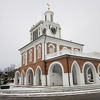 Market House In Snow - Fayetteville NC