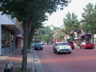 Market Street In Summer