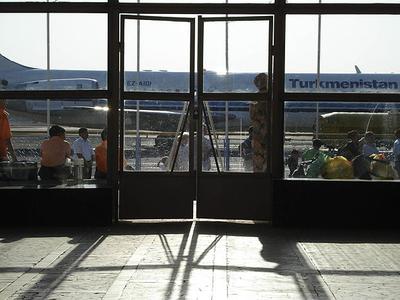 Mary Airport Turkmenistan