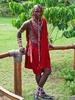 Masai Guy @ Kimana National Park In Tanzania