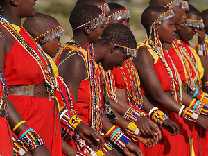 Following the Footstep of the Maasai Photos