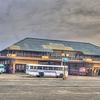 Matara Bus Station Backyard