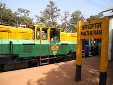 Matheran Railway Station - Maharashtra - India