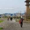 Matsue With Lake Shinji On The Left