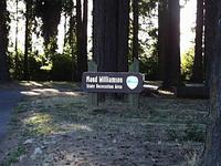 Maud Williamson local de recreação Estado