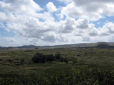 Maunga Vai A Heva Landscape - Easter Island - Chile
