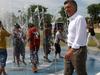 Mayor Mauricio Macri In Indoamerican Park
