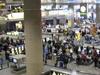 McCarran Passengers Wait For Baggage