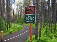 McDonald Creek Bike Path