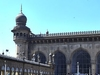 Mecca Masjid Front View