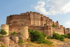 Mehrangarh Fort At Jodhpur