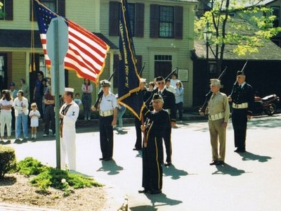 Memorial  Day Ceremony  1 9 9 0  Chester  Connecticut