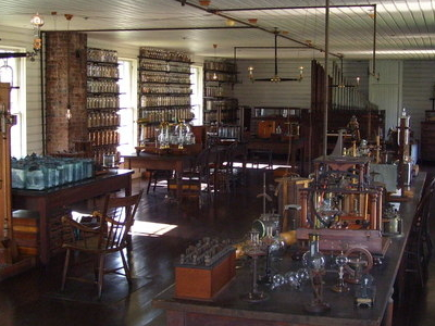 Menlo  Park  Laboratory Of  Thomas  Edison