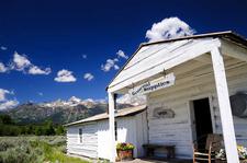 Menor's Ferry General Store - Grand Tetons - Wyoming - USA