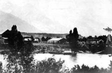 Menor's Ferry In 1899 - Grand Tetons - Wyoming - USA