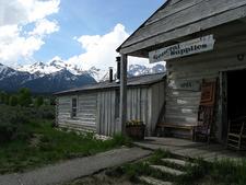 Menor's Ferry Store - Grand Tetons - Wyoming - USA