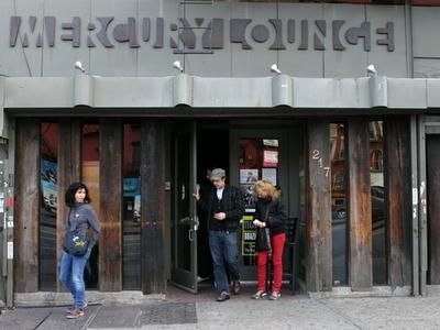 Mercury Lounge Exterior