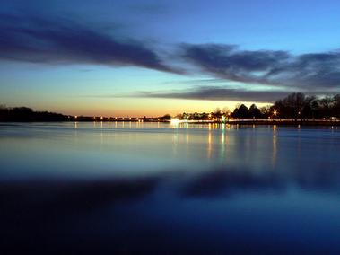 Merrimack River In Lowell