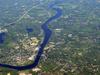 Merrimack  River  Aerial  Haverhill  Newburyport