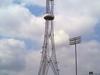 Mesquite Tower Rises Over Memorial Stadium In Mesquite.