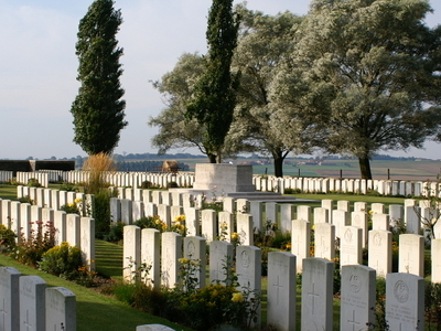 Messines Ridge British Cemetery