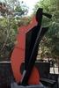 Metal Sculpture On Display