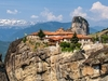 Meteora Monasteries With Landscape - Trikala - Greece