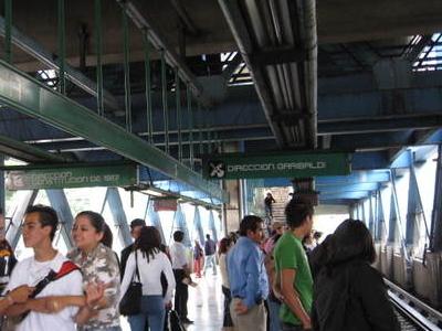 Metro Coyuya Platform