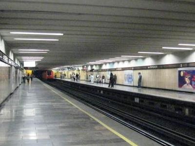 Metro Mixuhca Platform