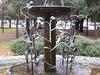 Metter Georgia Heron Fountain Downtown Park