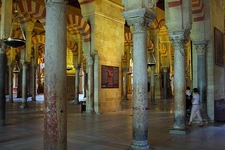 Mezquita Catedral Interiors - Cordoba Spain