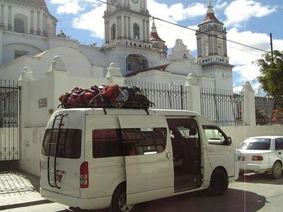 Church In Miahuatlan De Porfirio Diaz