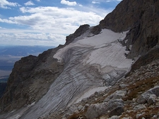 Middle Teton Glacier Looking Southeast