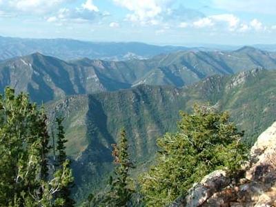 Mill Creek Canyon Thaynes Formation Cliffs