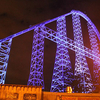 Millennium Force, Illuminated At Night