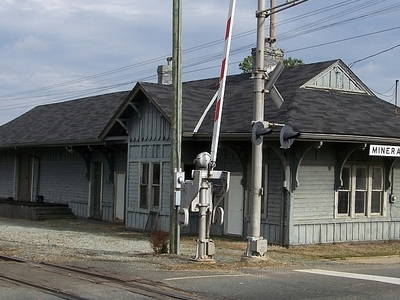C&O Depot In Mineral