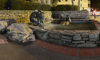 Mission Bear Sculpture Panorama