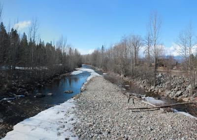 Mission Creek Pedestrian Overpass Ice Melting
