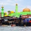 Mobul Island Green Mosque